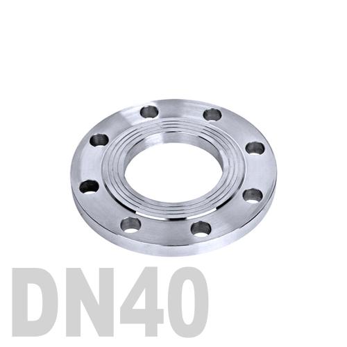 Фланец нержавеющий плоский AISI 304 DN40 (41 мм)