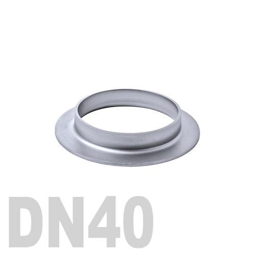 Фланцевая нержавеющая отбортовка AISI 304 DN40 (41 x 1.5 мм)