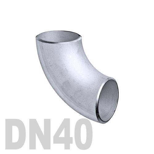 Отвод нержавеющий приварной AISI 304 DN40 (48.3 x 3 мм)