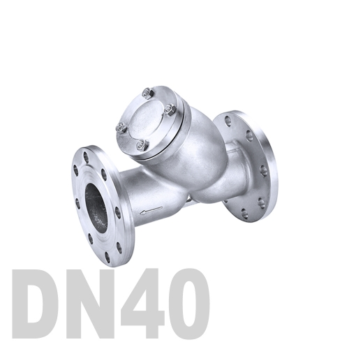 Фильтр фланцевый нержавеющий AISI 316 DN40 (48.3 мм)