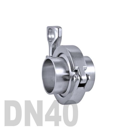 Соединение «КЛАМП» в сборе нержавеющее AISI 304 DN40 (41 мм)