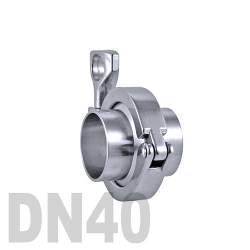 Соединение «КЛАМП» в сборе нержавеющее AISI 304 DN40 (38.1 мм)