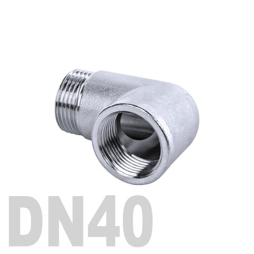 Отвод нержавеющий  90° [вр / нр] AISI 304 DN40 (48.3 мм)