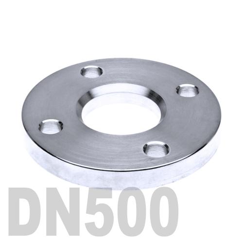 Фланец нержавеющий свободный AISI 304 DN500 (508 мм)