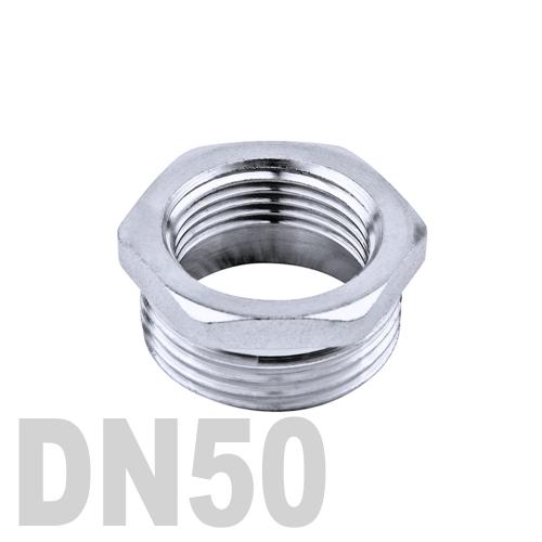 Футорка нержавеющая [нр / вр] AISI 304 DN50x40 (60.3 x 48.3 мм)