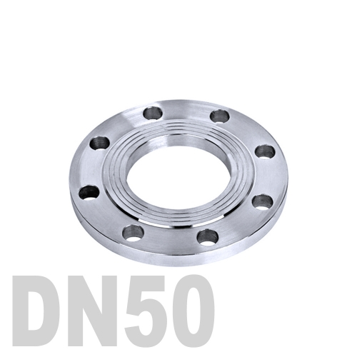 Фланец нержавеющий плоский AISI 304 DN50 (52 мм)