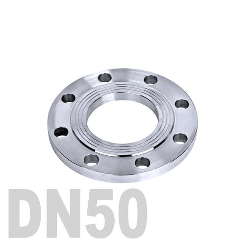 Фланец нержавеющий плоский AISI 316 DN50 (52 мм)