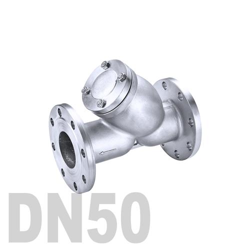 Фильтр фланцевый нержавеющий AISI 316 DN50 (60.3 мм)