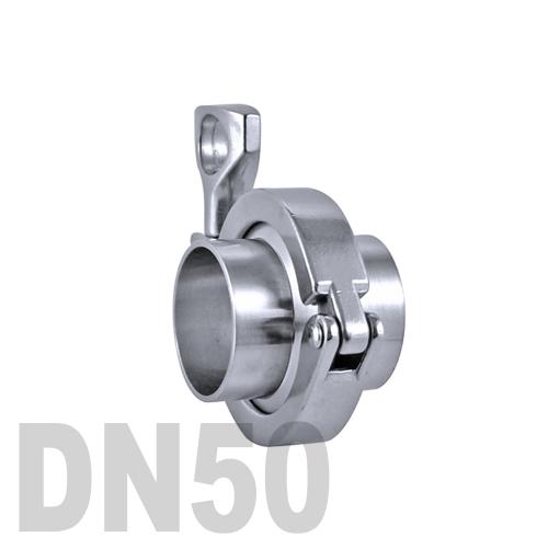 Соединение «КЛАМП» в сборе нержавеющее AISI 316 DN50 (50.8 мм)