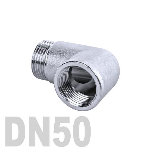 Отвод нержавеющий  90° [вр / нр] AISI 304 DN50 (60.3 мм)