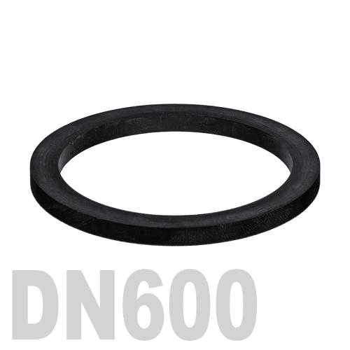 Прокладка EPDM DN600 PN10 DIN 2690