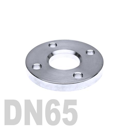 Фланец нержавеющий свободный AISI 316 DN65 (76.1 мм)