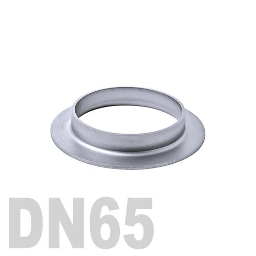 Фланцевая нержавеющая отбортовка AISI 316 DN65 (76,1 x 2,0 мм)