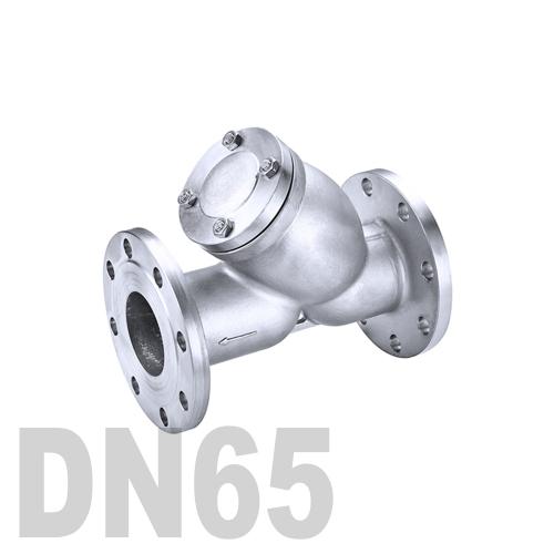 Фильтр фланцевый нержавеющий AISI 316 DN65 (76.1 мм)
