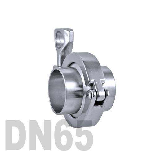 Соединение «КЛАМП» в сборе нержавеющее AISI 316 DN65 (70 мм)