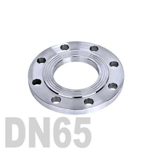 Фланец нержавеющий плоский AISI 316 DN65 (70 мм)