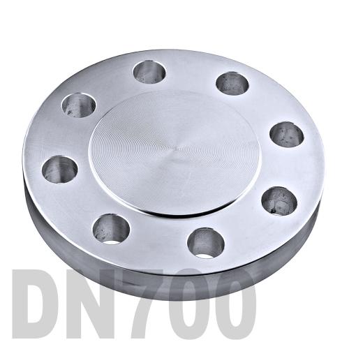 Фланцевая нержавеющая заглушка AISI 316 DN700 (711.2 мм)