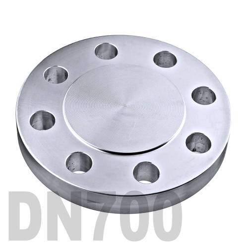 Фланцевая нержавеющая заглушка AISI 304 DN700 (711.2 мм)