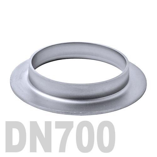 Фланцевая нержавеющая отбортовка AISI 304 DN700 (711,2 x 3,0 мм)