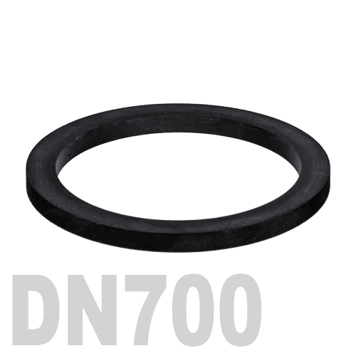 Прокладка EPDM DN700 PN10 DIN 2690
