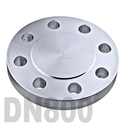 Фланцевая нержавеющая заглушка AISI 316 DN800 (812 мм)