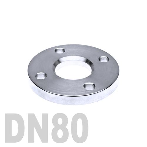 Фланец нержавеющий свободный AISI 304 DN80 (85 мм)