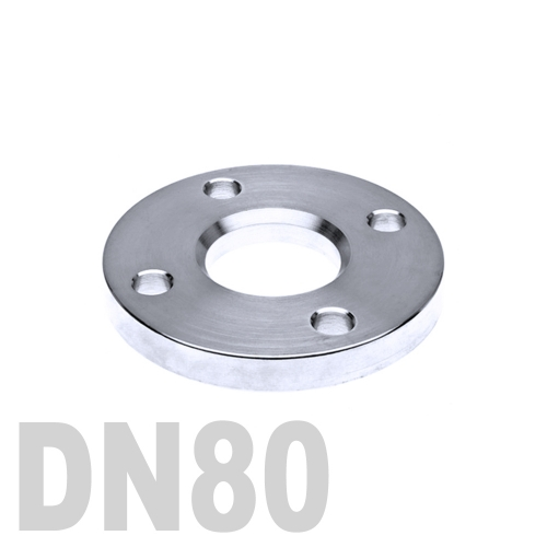 Фланец нержавеющий свободный AISI 304 DN80 (88.9 мм)